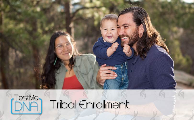 Tribal Enrollment Testing provided by Test Me DNA